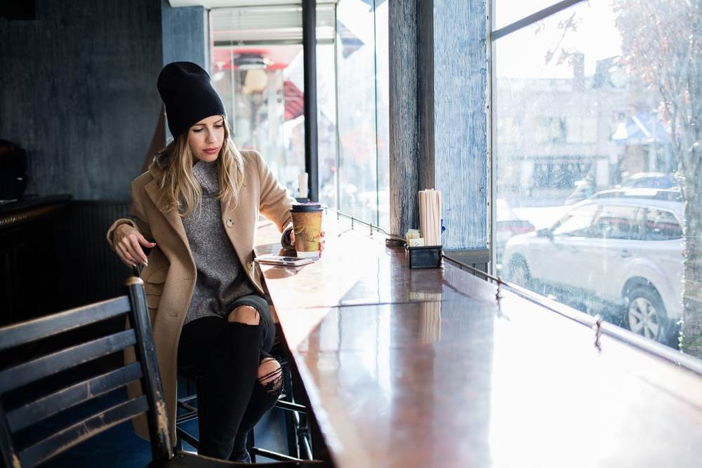 Coffee Shop Beanie Streetstyle