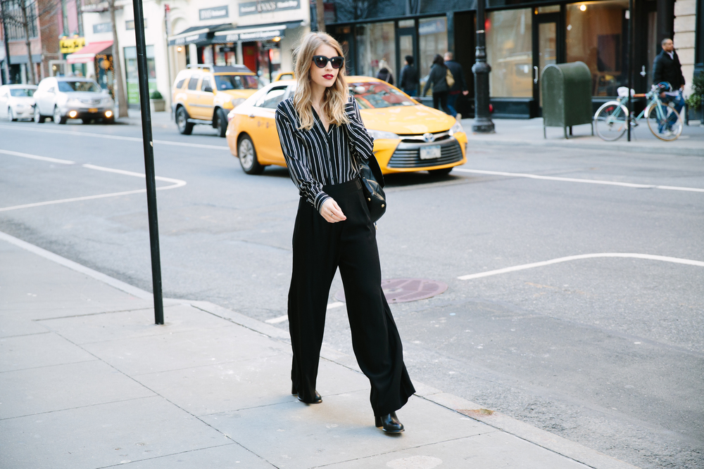 streetstyle business chic