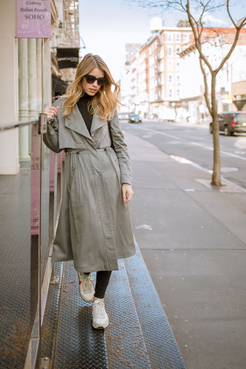 trench coat streetstyle