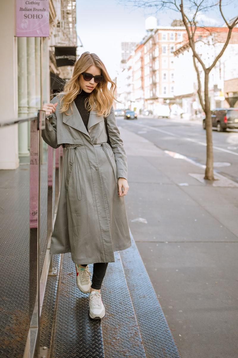 trench coat streetstyle