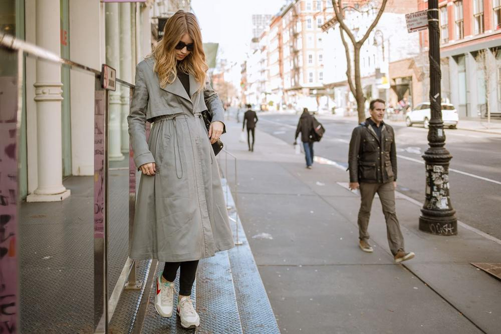 french connection trench