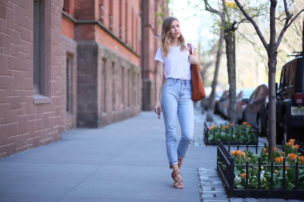 mom jeans spring fashion