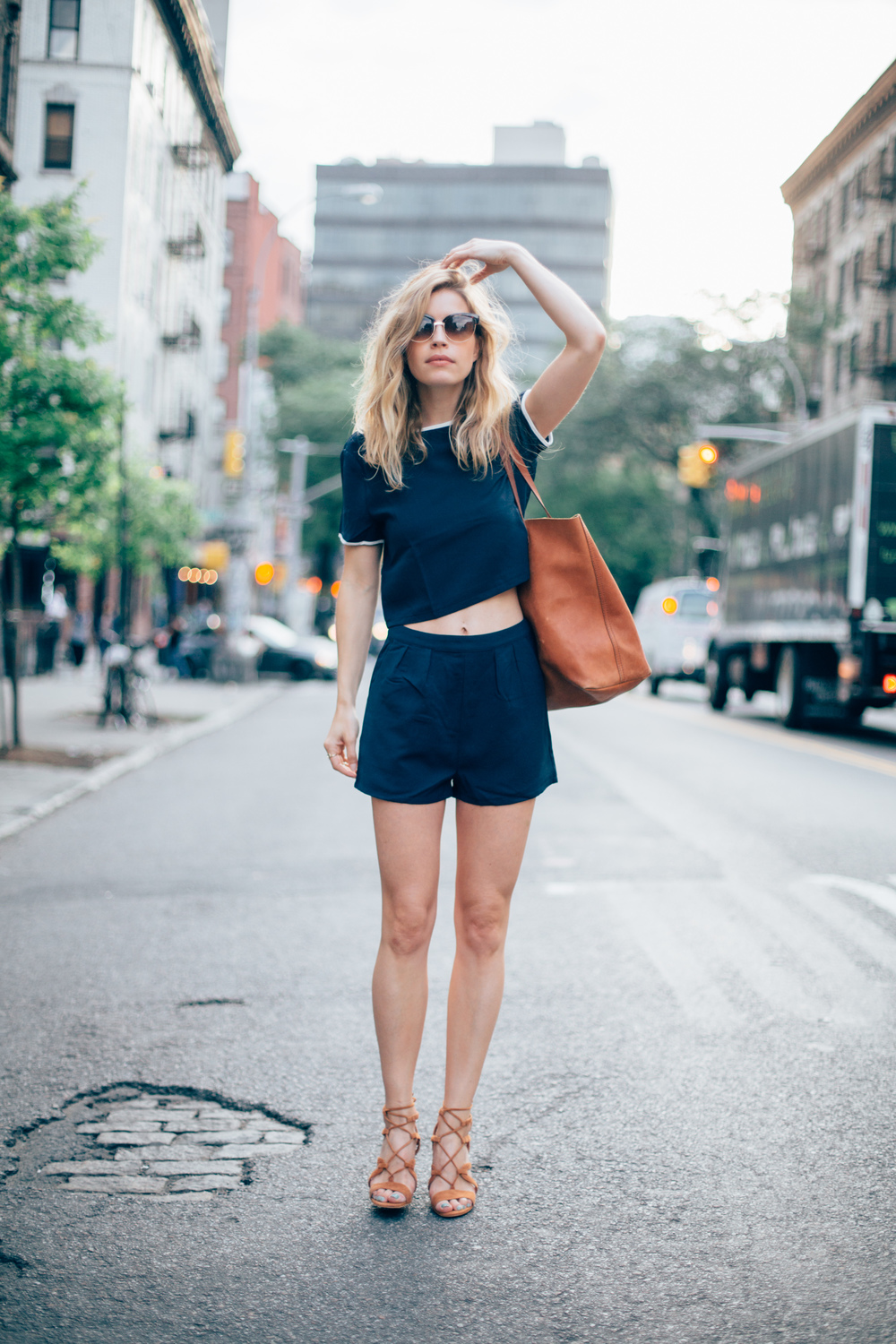 Two piece: Esther Boutique | Sandals: Dune London | Bag: Madewell | Sunnies: Urban Outfitters