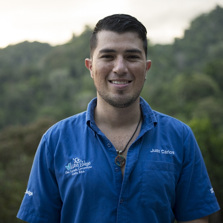 Juan Carlos Gonzalez - Luna Lodge Operations Manager    Info