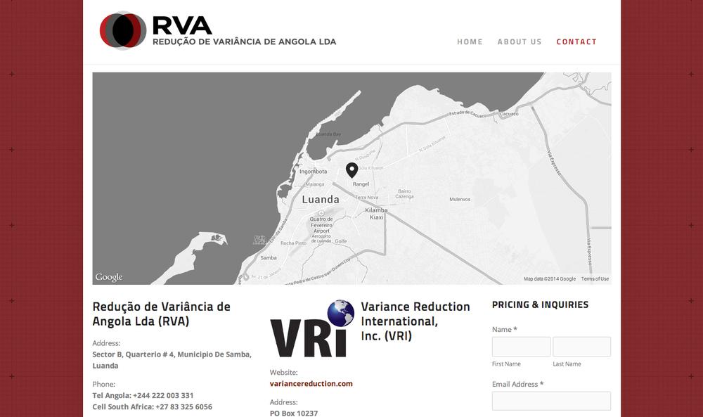 RVA contact page