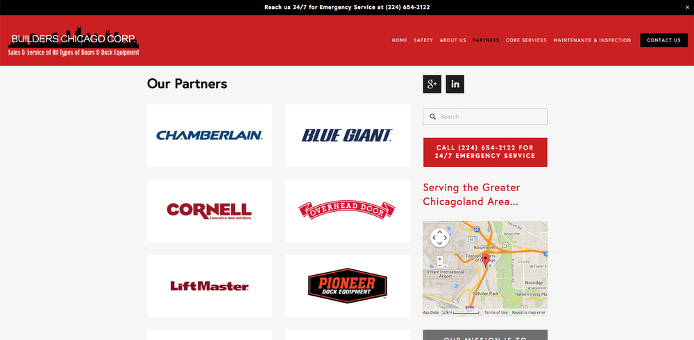 Builders Chicago Partners Page