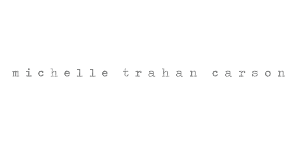 Final logo for Michelle Trahan Carson