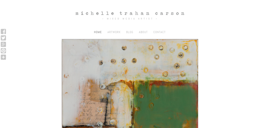 Michelle Trahan Carson Homepage