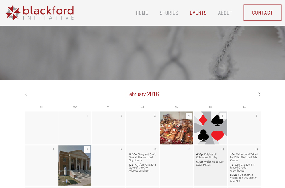 Blackford Initiative Events Page