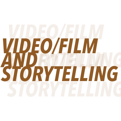 Video/Film and Storytelling - Video has been and will continue to be the way humans appreciate and enjoy life. We love stories that are engaging and intriguing. We can help it, we're hardwired this way. We love to help our clients speak life into their brand, one story at a time.