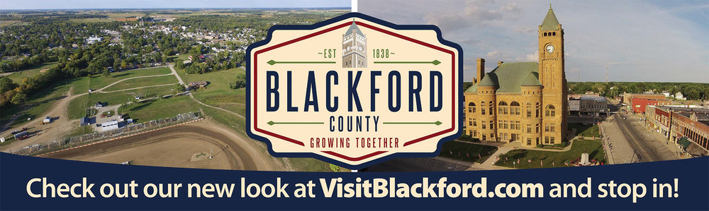 Our Billboard meant to show off the new look for Blackford County.
