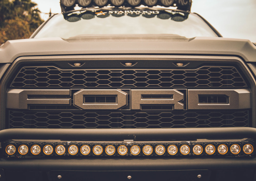 Ford Truck up close