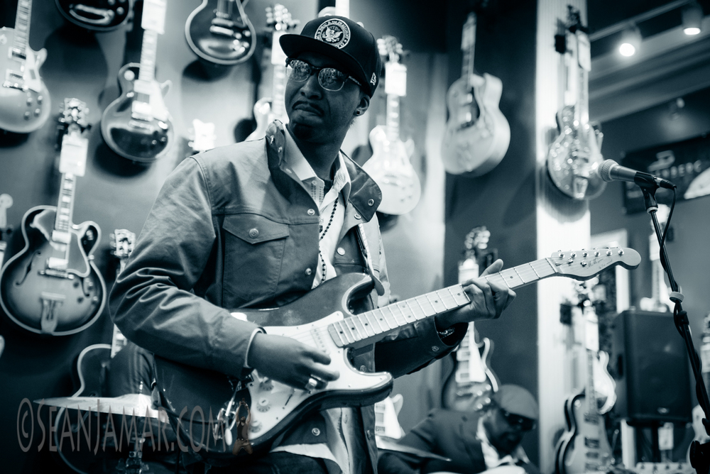 Marcus Machado plays The Platinum Room. Photo courtesy of Sean Jamar.