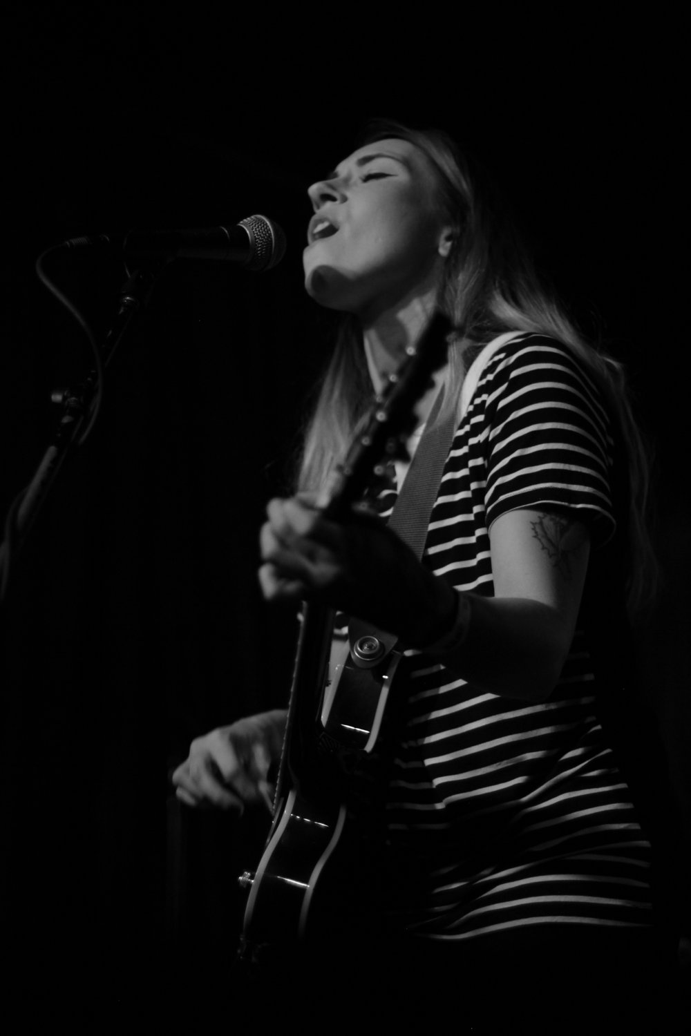 Lauren West at Arlene's Grocery. Photo courtesy of Kevin Vallejos.