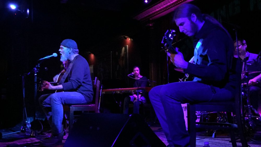"Bruce Sudano performing ""Your World Now"" during his album-release show at The Cutting Room."