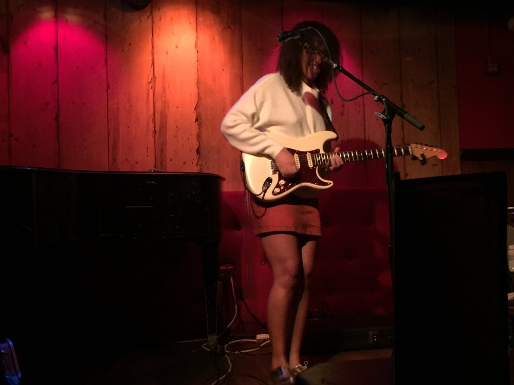 Jackie Venson mesmerizing audiences at Rockwood Music Hall.