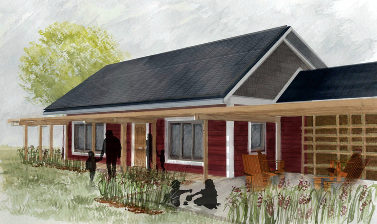Net Zero Home Design net zero energy home vandemusser design north carolina rafter tail thermal bridge Net Zero House