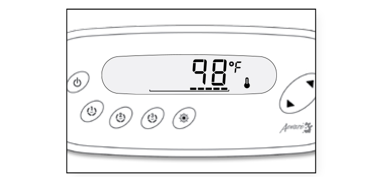 Temperature regulation with in.k450