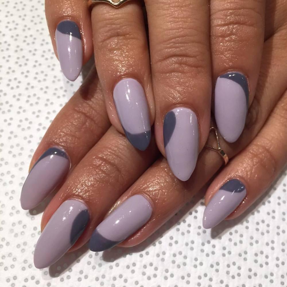 vanityprojectsnyc :     @nailsbymii #MiMi #handpainted #GelSpecial #nailart #VanityProjects  (at Vanity Projects)