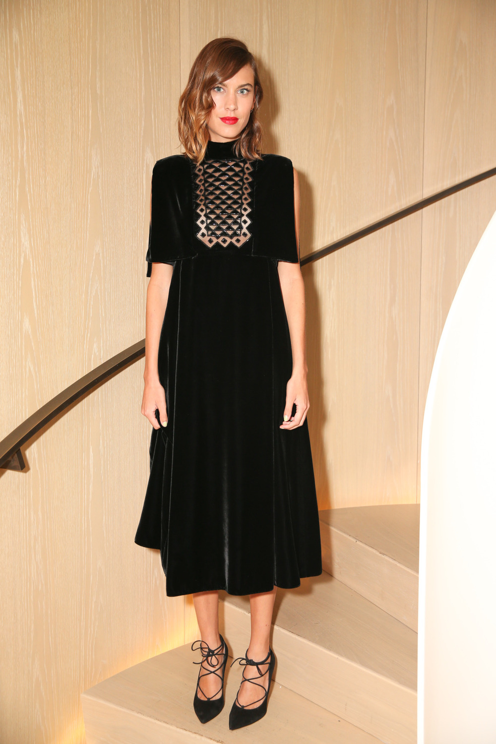 alexachungdirectory :     Alexa Chung attends Rihanna's New York Fashion Week Block Party on September 10, 2015