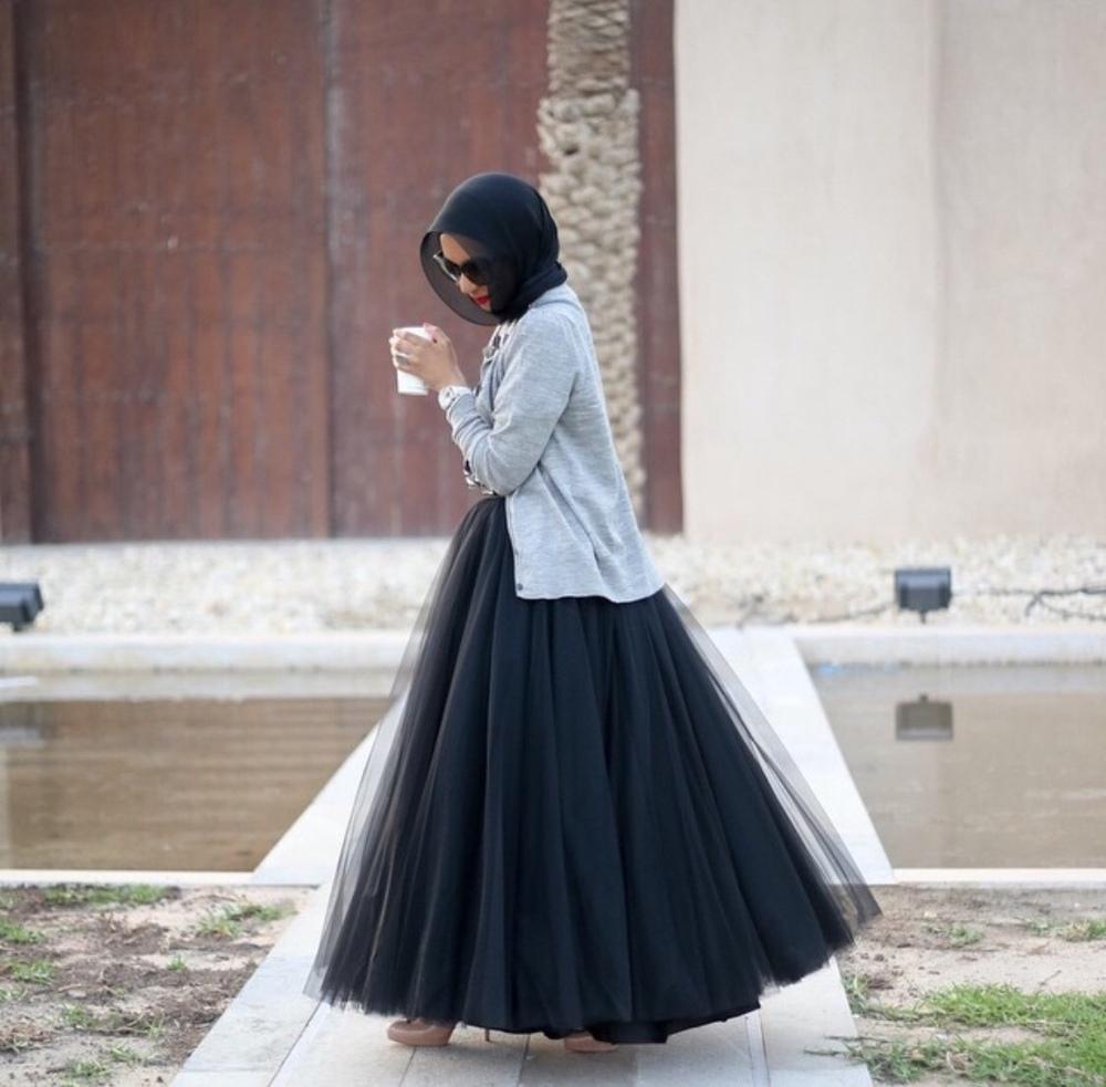 modesthijabi :     Absolutely love this ballerina skirt by  meemalessa  :)