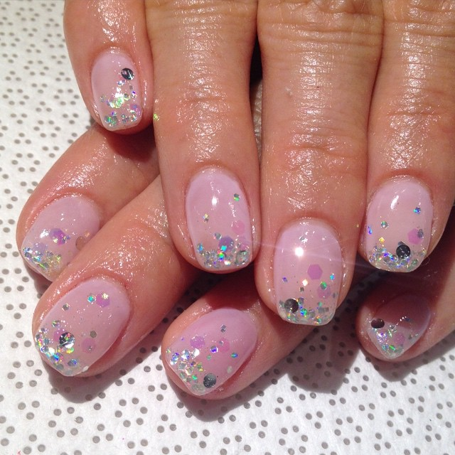 vanityprojectsnyc: @spifster goin incognito w these #Vanityprojectsbridal #gelnail #nailart #VanityProjects (at Vanity Projects)