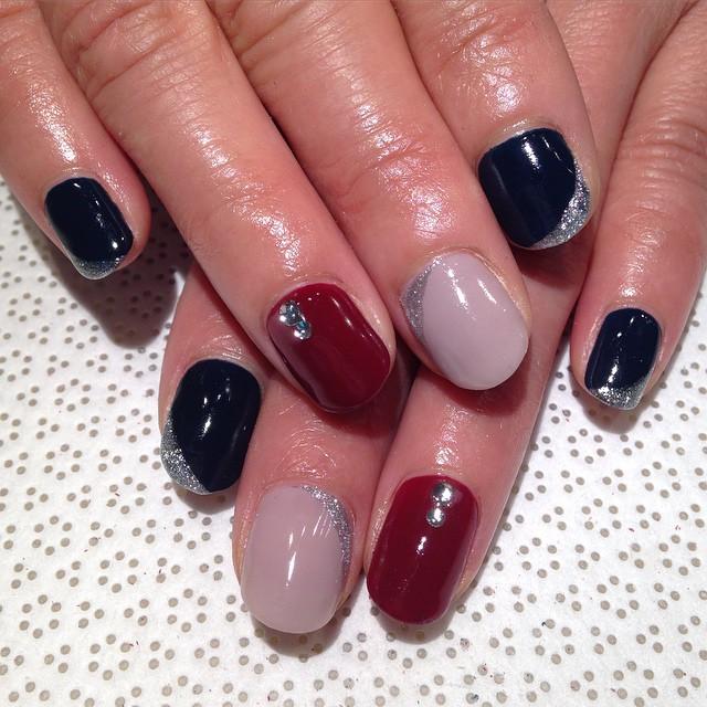 vanityprojectsnyc :   @macokwsk #Maco #handpainted #gelnail #nailart #Vanityprojects  (at Vanity Projects)