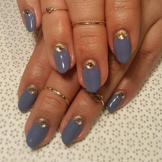 vanityprojectsnyc :   @nailcouturekk #Kylie #handpainted #gelnail #nailart #Vanityprojects  (at Vanity Projects)