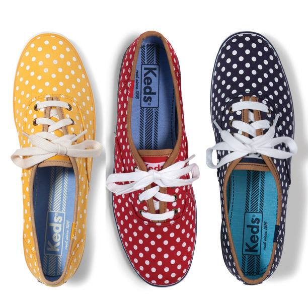 keds :      All about the dots.