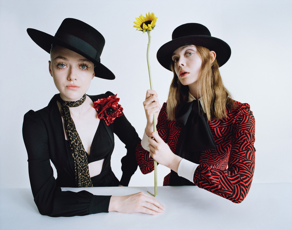 wmagazine :       Surreal Sisters     Photograph by Tim Walker; styled by Jacob K; W magazine February 2015.
