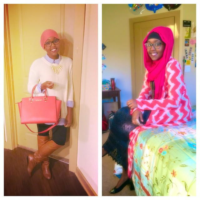 Modest fashion at its finest! #HijabiFashion #HijabiQueens #HijabLove #TresOnCampus #TVContest