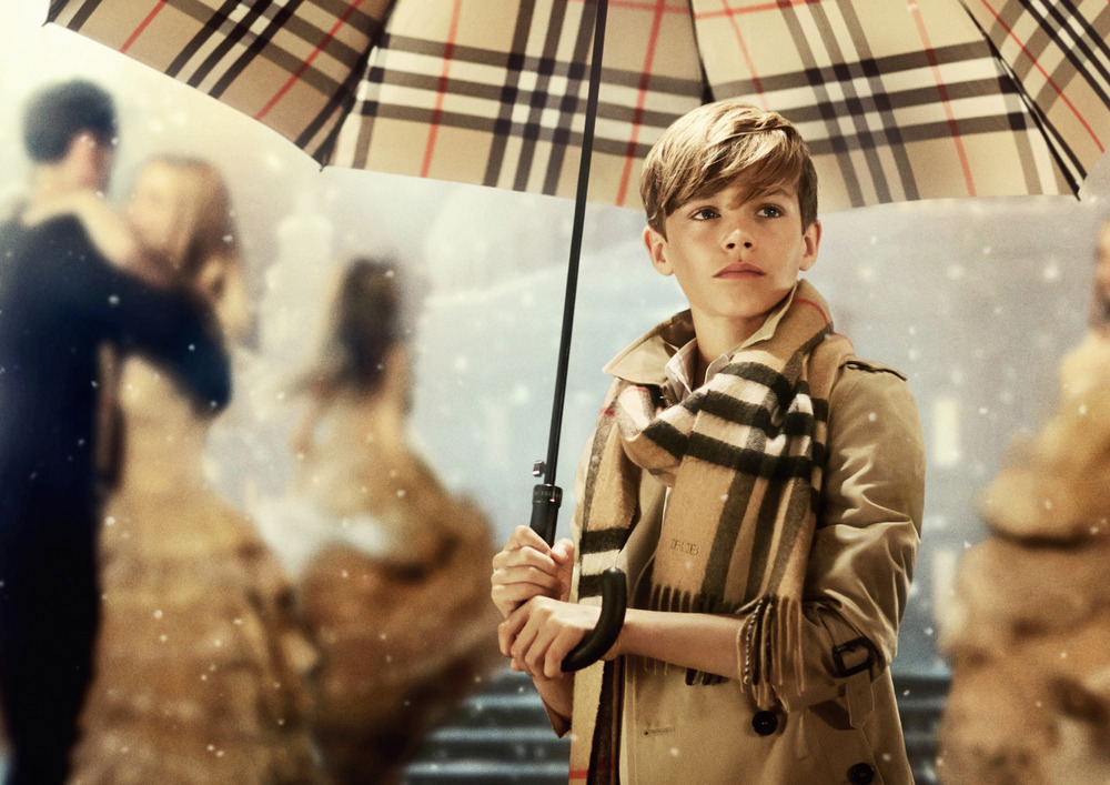 teenvogue :      BRB, watching    Romeo Beckham    dance around in Burberry for the rest of the day  »