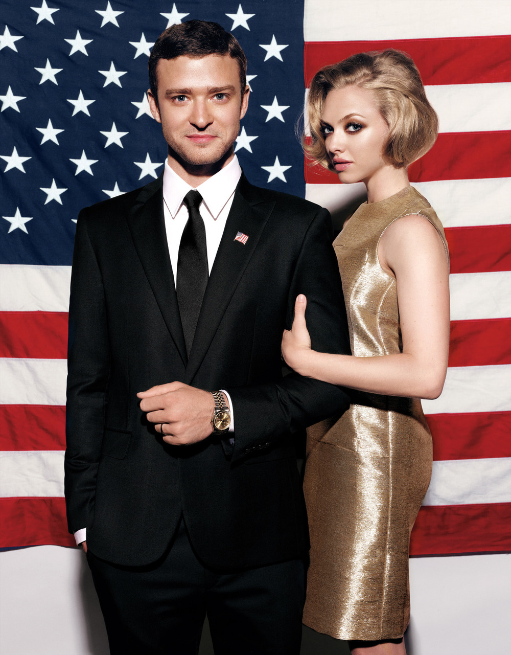 wmagazine :       Go Vote!       Photograph by Michael Thompson; styled by Edward Enninful; W magazine October 2011.