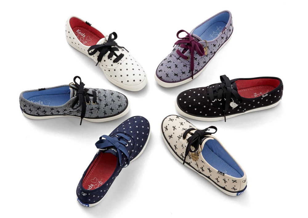 keds :      Sparkles, bows and dots oh my!  taylorswift 's    holiday collection is in.