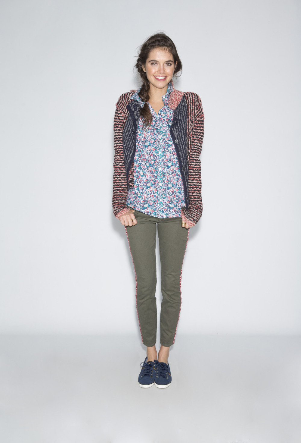 keds :      Stand apart from the crowd in a floral shirt and our  Rally Suede Perf .