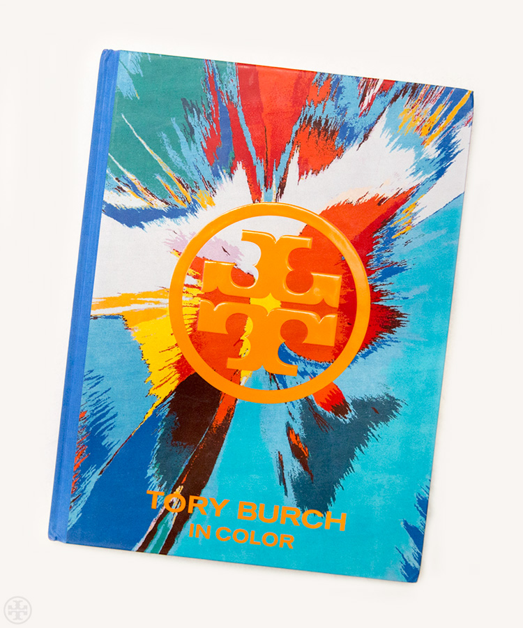 toryburch :     C is for Color   Our first book,  Tory Burch In Color , celebrates life in orange, blue, green, purple…   Shop   Tory Burch In Color  .