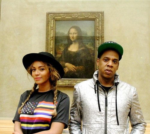 billboard :      Beyonce, Jay Z Attend The Louvre: See The Pics