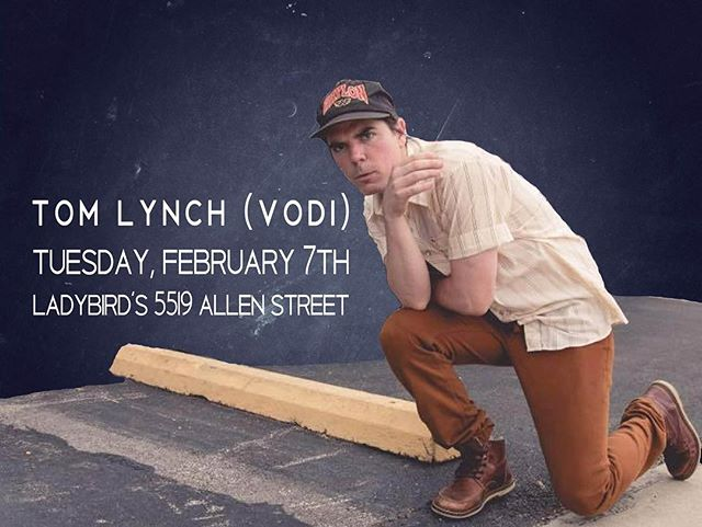 Tom Lynch of @voditheband will be playing some music tonight starting at 730pm! Come on in for great music, drink specials and Taco Tuesday!!