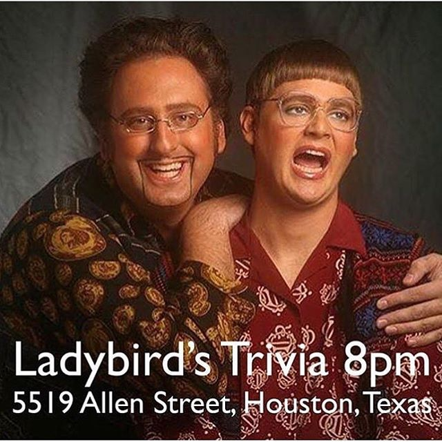 You know what day it is! Trivia starts at 8pm!!