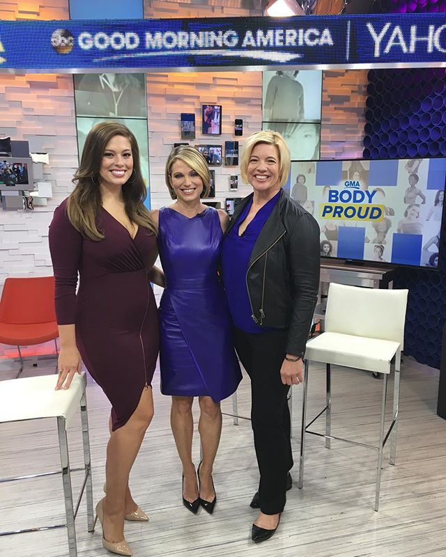 📺Final day on @goodmorningamerica for Ashley's #GMABodyProud series! Look on her Facebook or IG for the link to watch! 📺#beautybeyondsize #ALDAWomen #goodmorningamerica
