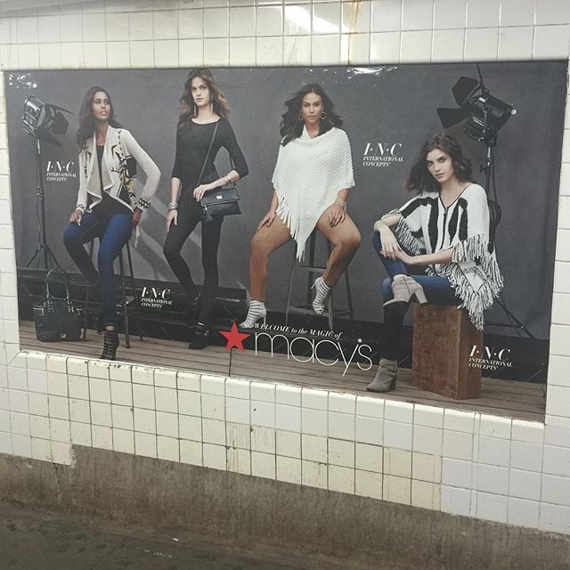 🚝 Quita in the subway 🚝. #beautybeyondsize #ALDAWomen