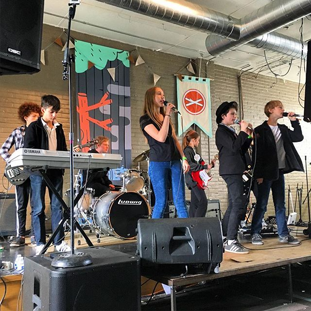 Great show everyone! Thanks again @treefortfest for having us this year! #treefort2016 #amotw