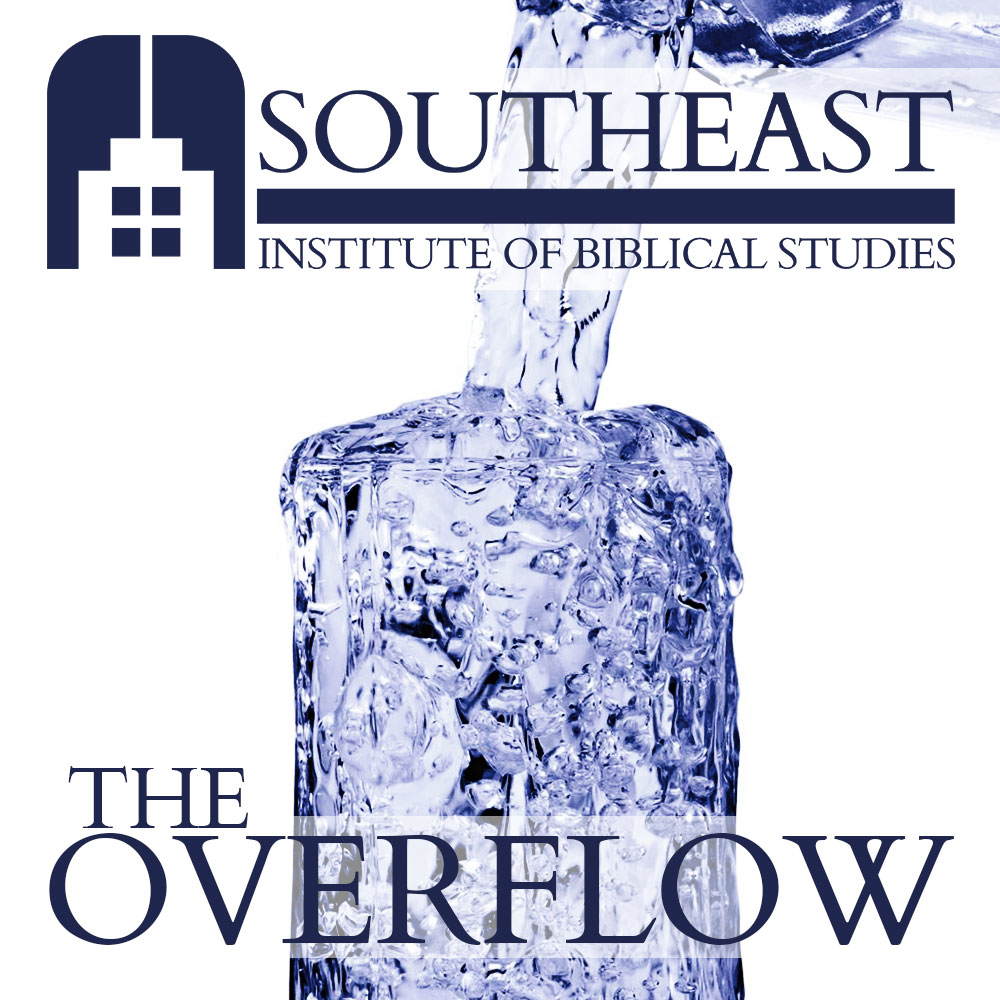 "The cover art for our new podcast, ""The Overflow."""