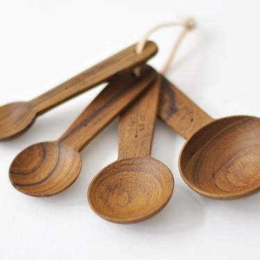 AFTER: wooden or steel cooking utensils.