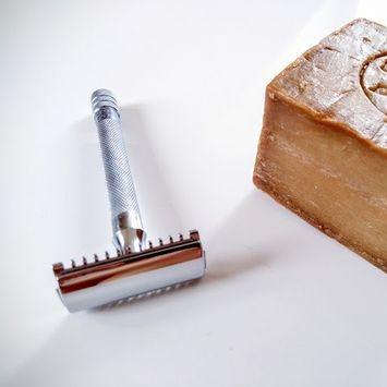AFTER: steel razor