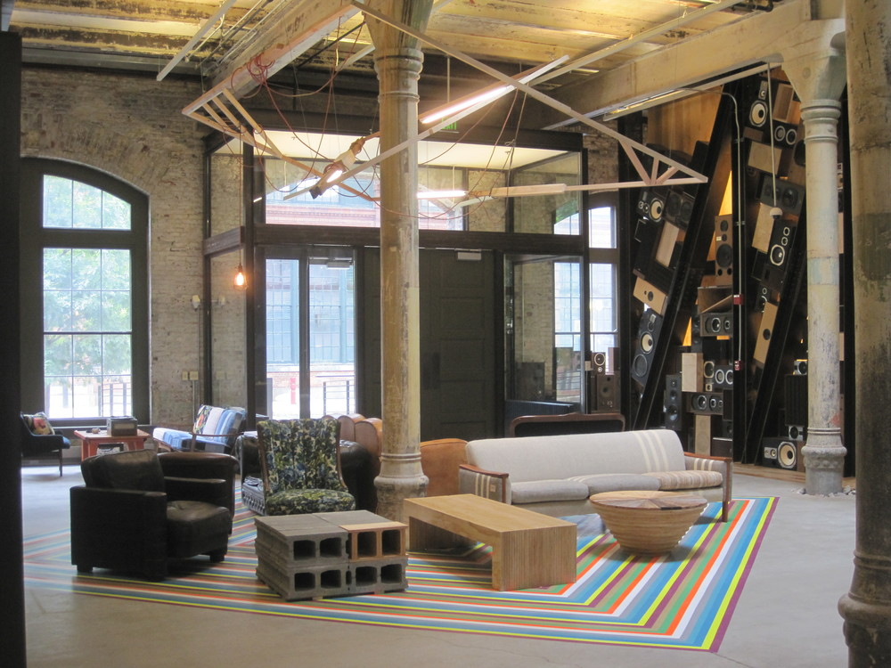 Urban Outfitters Corporate Office. Built in conjunction with Urban Outfitters Store Environment Team.