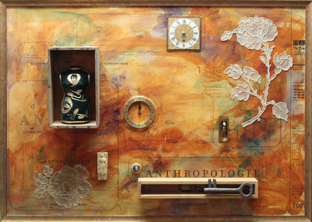 ASSEMBLAGES & MIXED MEDIA
