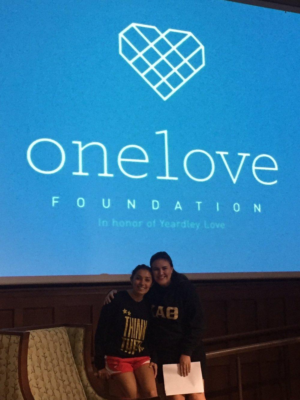 Pictured:Ariana LaRocca & Caroline Quamme