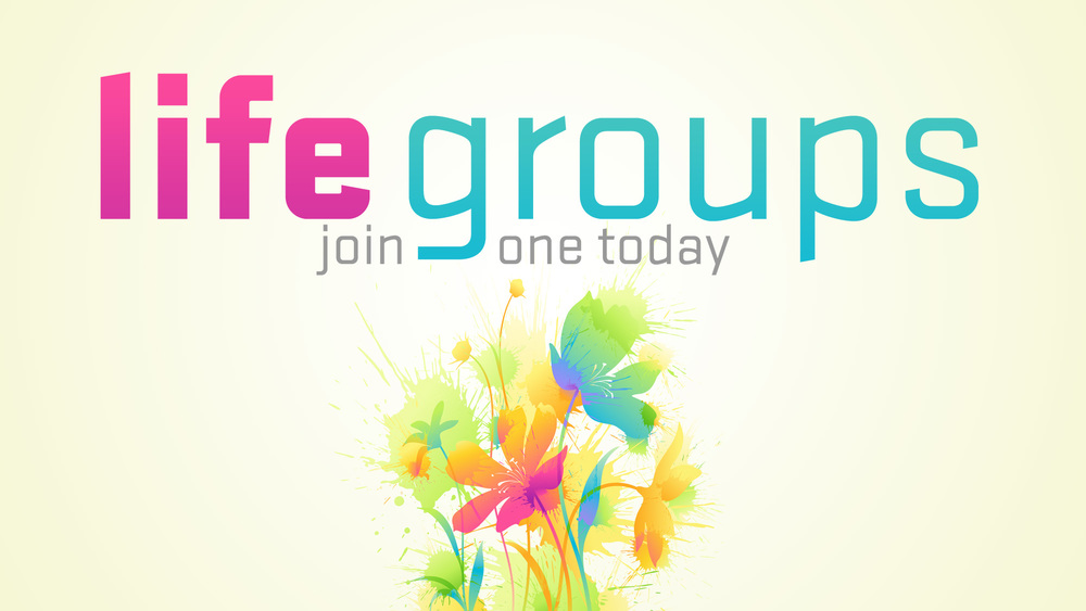After service Sept. 20 & 27 Find a Life Group that fits you!