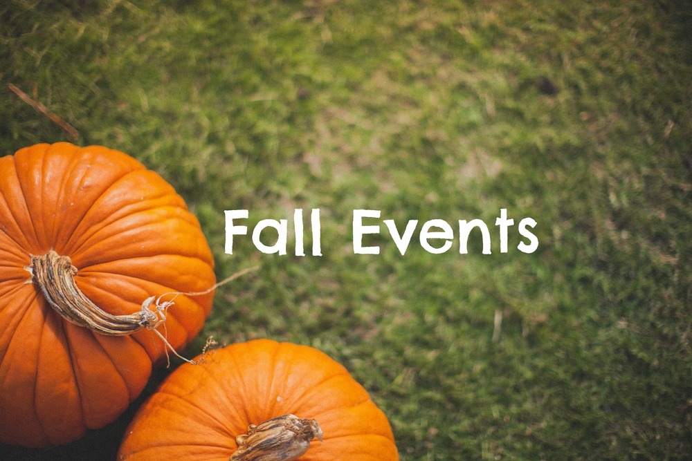 So much going on @ CoE Sign up for Fall Events